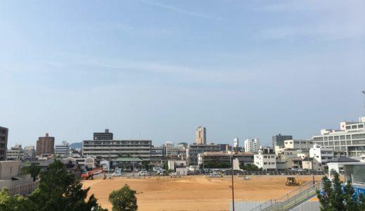 香川県立中央病院跡地の今(※2019年7月17日現在)公共による利用が検討されているみたい