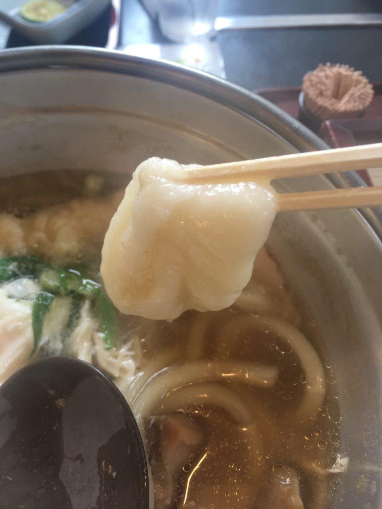 香南町 かわたうどん 鍋焼きうどん